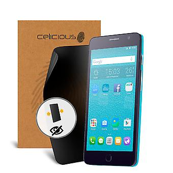 Celicious Privacy Alcatel Onetouch Star 2-Way Visual Black Out Screen Protector