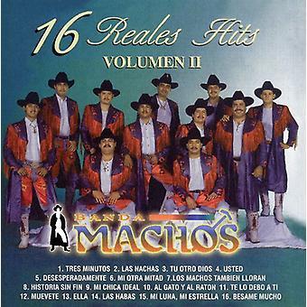 Banda Machos - Banda Machos: Vol. 2-16 Reales Hits [CD] USA import