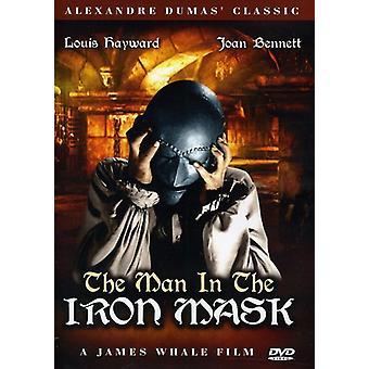Manden i jernmasken [DVD] USA importerer