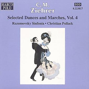 C.M. Ziehrer - C.M. Ziehrer: Selected Dances and Marches, Vol. 4 [CD] USA import