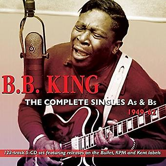 B.B. King - King B.B.-Complete Singlesas & Bs 194 [CD] USA import