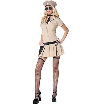 Sheriff costume ladies police US COP police sexy Sheriff costume