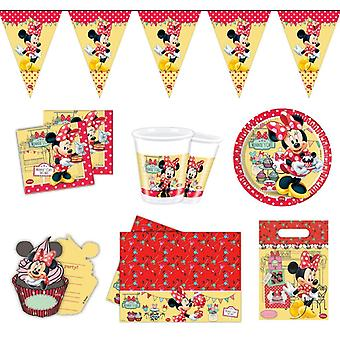 Minnie mouse party package Disney 50-teilig kids birthday kids party