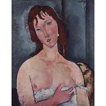 Amedeo Modigliani - Young woman Poster Print Giclee