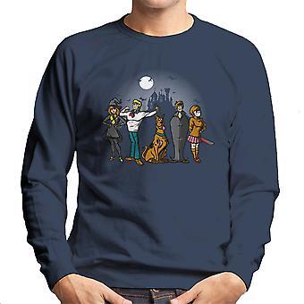 Mysteriet flok Scoobie Doo mænds Sweatshirt