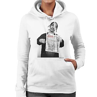 Snoop Hooded Sweatshirt Dogg quotidiano giornale Star femminile