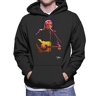 Johnny Cash spiller gitar menn er hette Sweatshirt