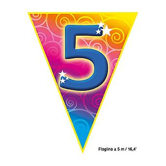 Part favoriserer Flagline '5' 5m