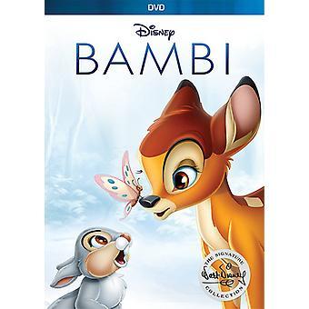 Bambi: The Walt Disney Signature Collection [DVD] USA import