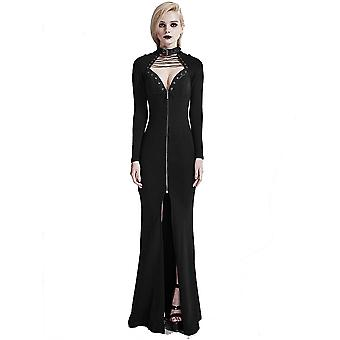 Fantasmogoria - BLACK MUSE DRESS - Womens Black Dress