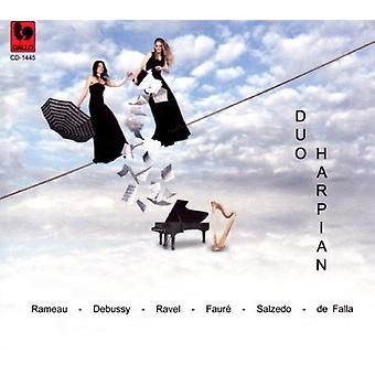 Debussy / Ravel / Faure - Duo Harpian [CD] USA import