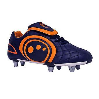 OPTIMALE Eclipse Rugby-Boot Junior [Marine/Orange]