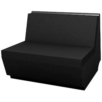Vondom Rest Sofa steel core module 90x94x75 Black 53004