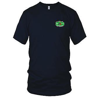 US Armee - 2. Panzerdivision militärische Occupational Specialty MOS gestickt Patch - Damen T Shirt