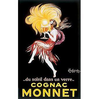 Cognac Monnet Poster Print by Leonetto Cappiello (19 x 28)