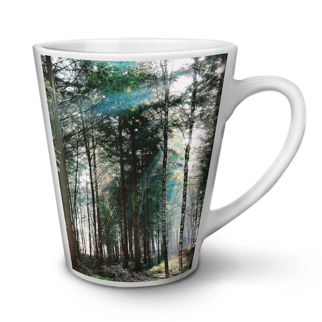 Forêt Latte 12 Belle Nouvelle Tasse En De Nature OzWellcoda Café Céramique Blanche xBQroeEdWC