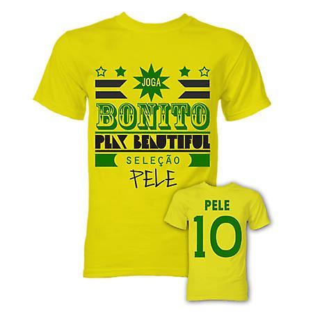 Pele Joga Bonito T-Shirt (gelb)