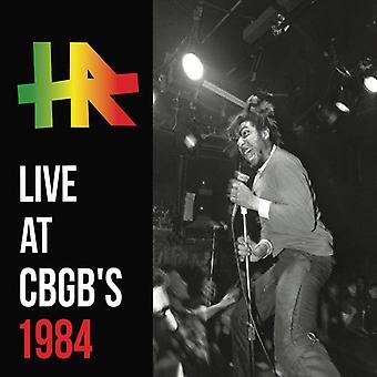 HR - Live at Cbgb 1984 [CD] USA Import
