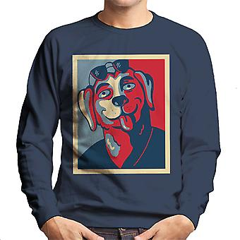 Mr Peanutbutter For Governor Bojack Horseman Men's Sweatshirt