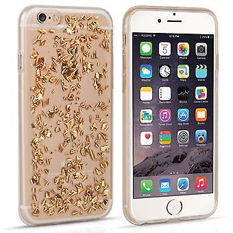 Caseflex Iphone 6 и 6s фольги мягкий футляр - золото