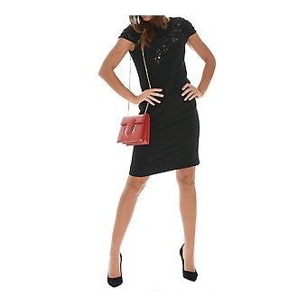 Botondi ladies W1504B41 black viscose dress