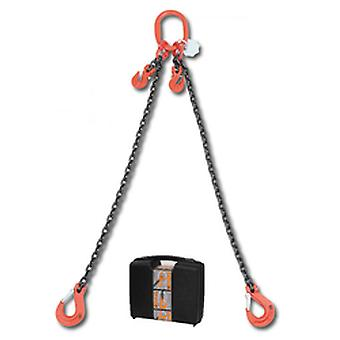 8097/1 C10A Beta Chain Sling 2 Legs And Grab Hook In Plastic Case 10mm 1 Mt