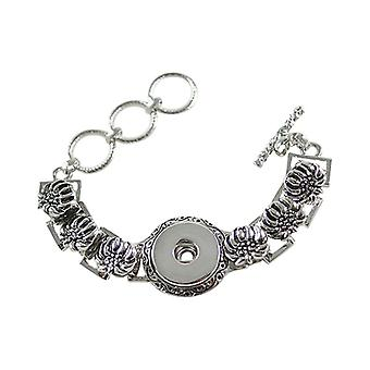 Stainless Steel Bracelet For Click Buttons Kb0186