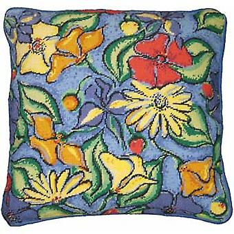 Flowers Needlepoint Canvas