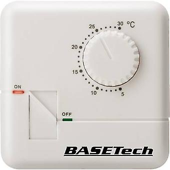 Indoor thermostat Structure 24 h mode 5 up to 30 °C Basetech