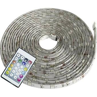 LED strip set + plug 12 V 500 cm RGB Müller Licht LED Strip Farbwechsel Digital 57016