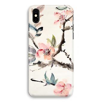 iPhonegeval X volledige Print - Japenese bloemen