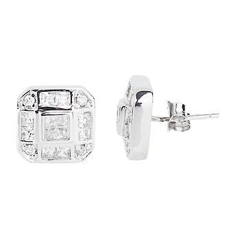 Sterling 925 Silver earrings - MIAMI 12 mm
