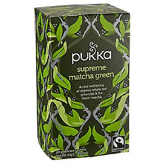 Pukka økologisk Supreme Matcha grøn te