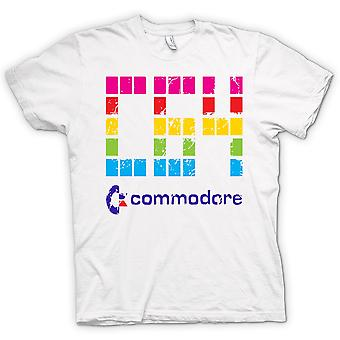 Mens T-shirt - Commodore C64 - Retro computergames - Funny
