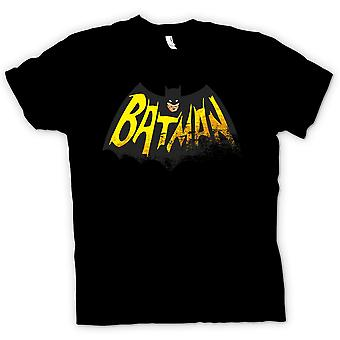 Womens T-shirt - Batmans Cape - Comic Hero