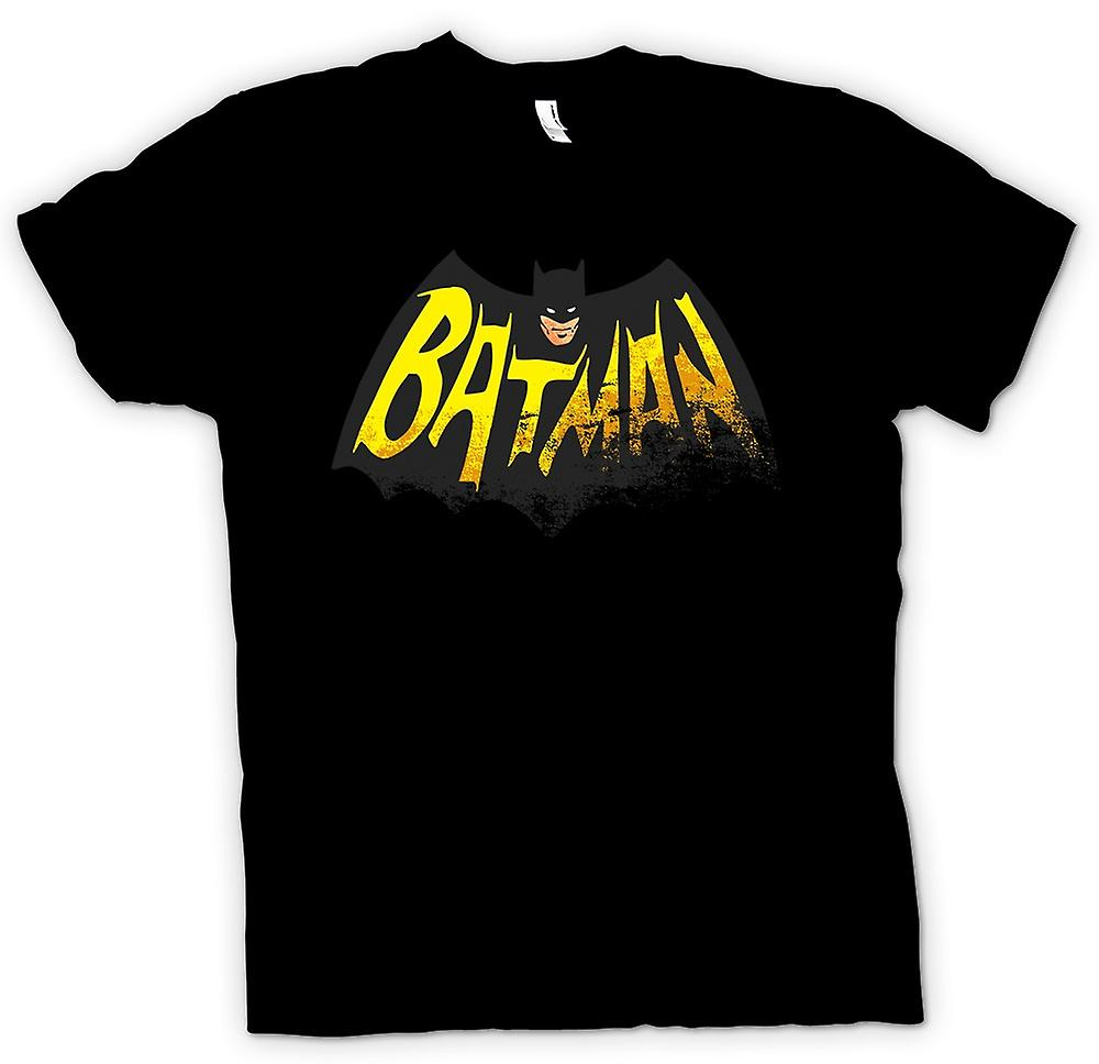 Mens T-shirt - Batmans Cape - komische held