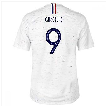2018-2019 Francia Away Nike maglia da calcio (Giroud 9)