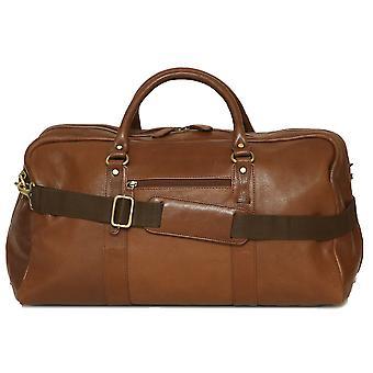 Felda aus echtem Leder Reisetasche Sporttasche - Kabine-Handgepäck