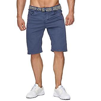 Mäns Shorts Chino Shorts bälten Bermuda mönster eleganta Marine corps