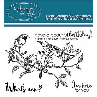 Technique Tuesday Clear Stamps 3