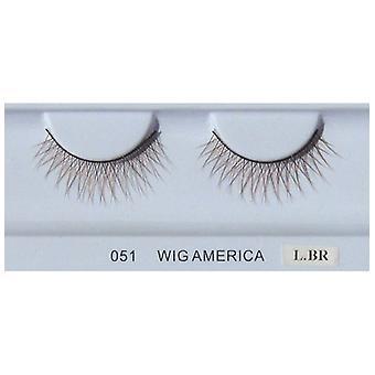 Wig America Premium False Eyelashes wig499, 5 Pairs