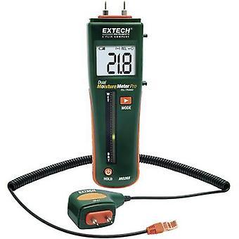 Extech MO265 Moisture meter Measuring range building moisture 0 up to 99.9 vol % Measuring range Wood moisture 6 up to 94.8 vol %
