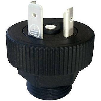 Hirschmann 931 298-001 GSP 211 PG11 Connector Plug Black Number of pins:2 + PE