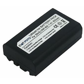 Batería de reemplazo de Nikon EN-EL1 Dot.Foto - 7.4v / 800mAh
