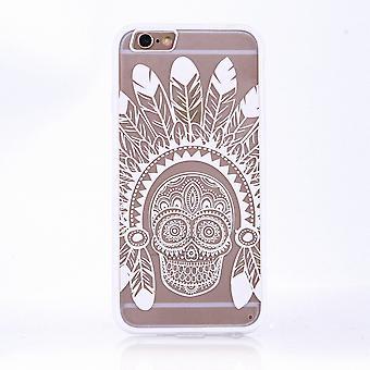 Mandala di Mobile Shell per motivo di Huawei P9 design Custodia cover Springs paraurti cranio copertina sacchetto bianco