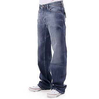 Diesel Tohnee Wide Striaght Jean With Pocket Flaps