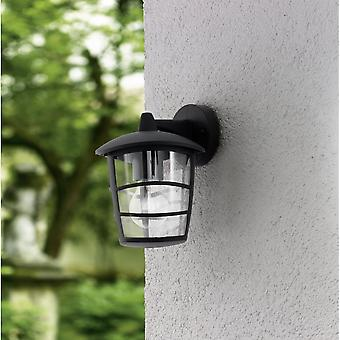 Eglo Aloria Black Contemporary Outdoor Porch Down Lantern