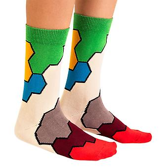 Molecule luxury combed cotton crew socks by Ballonet