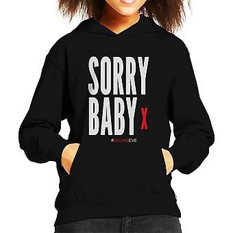 Killing Eve Sorry Baby Kid's Hooded Sweatshirt