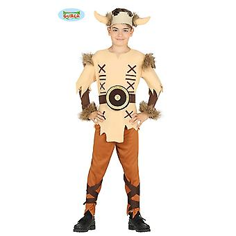 Guirca costume for young Viking Gauls barbarian child costume